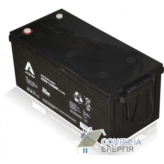 Акумуляторна батарея Azbist ASAGM-12 200 0M8