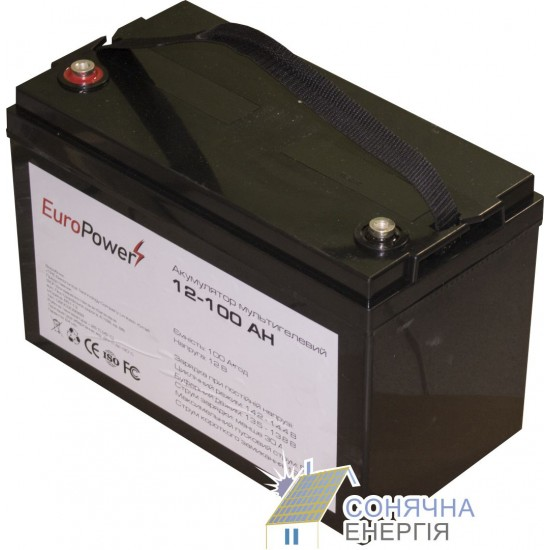 Акумуляторна батарея EuroPower MG12-100 Аh