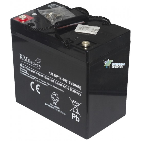 Акумуляторна батарея KM Battery KM 12-60 Ah