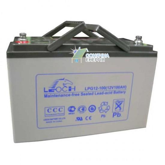 Акумуляторна батарея Leoch LPG12-100