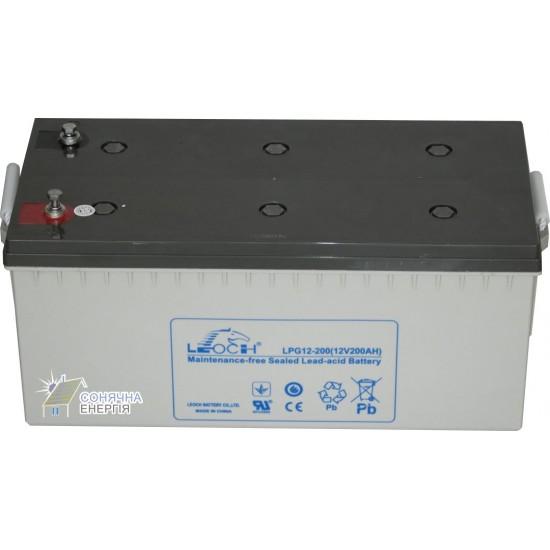 Акумуляторна батарея Leoch LPG 12-200