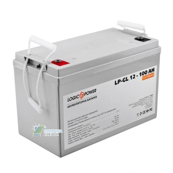 Акумуляторна батарея LogicPower LP  - GL 12–100 AH
