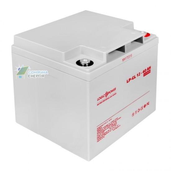 Акумуляторна батарея LogicPower LP-GL 40 AH