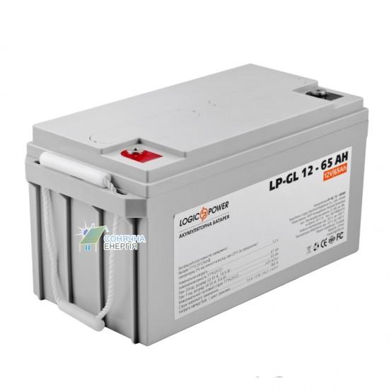 Акумуляторна батарея LogicPower LP-GL 65 AH