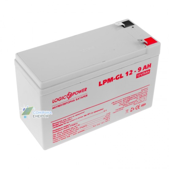 Акумуляторна батарея LogicPower LP-GL 12 - 9 AH