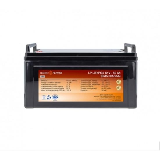 Акумуляторна батарея LP LiFePO4 12V - 50 Ah (BMS 50A/25А)