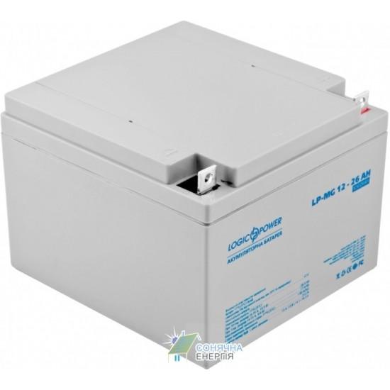 Акумуляторна батарея Logic Power LPM - MG 26 AH