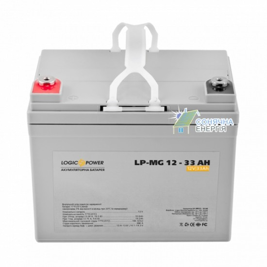 Акумулятора батарея LogicPower LPM–MG 33