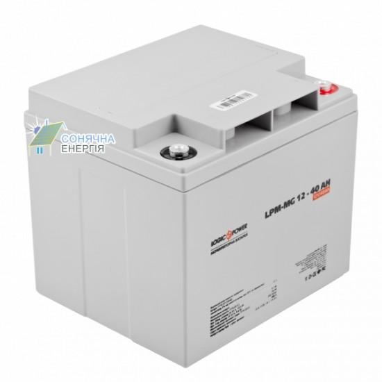 Акумуляторна батарея Logic Power LPM–MG 40 AH