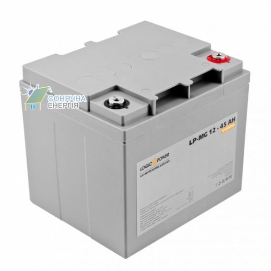 Акумуляторна батарея Logic Power LPM - MG 45 AH