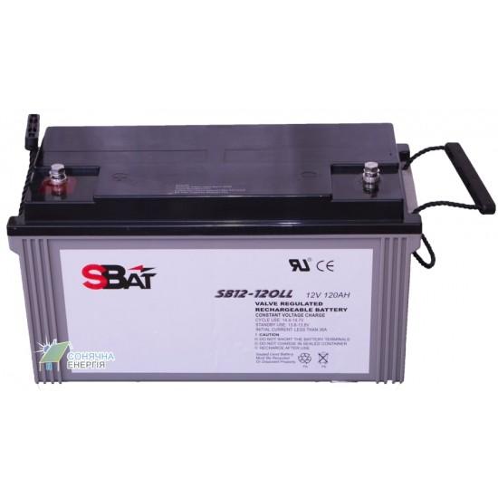 Акумуляторна батарея Sbat SB 12-120 LL