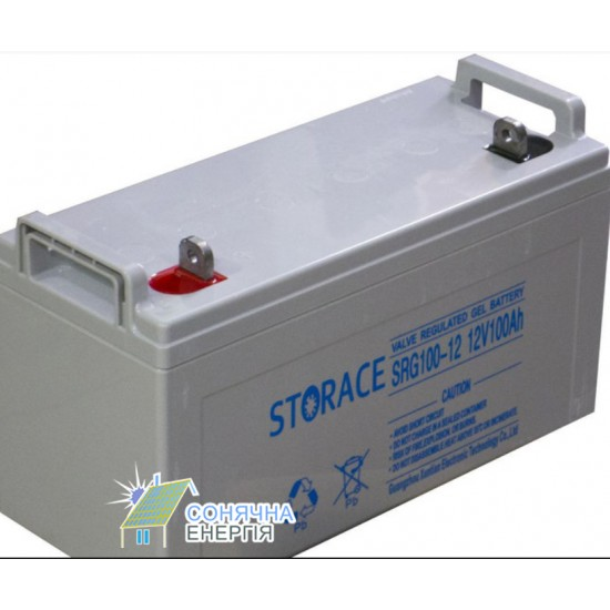 Акумуляторна батарея Storace 12V-100Ah