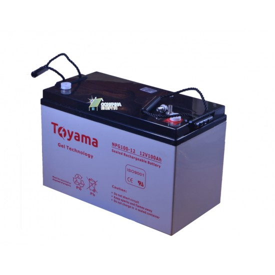 Акумуляторна батарея Toyama NPG100-12