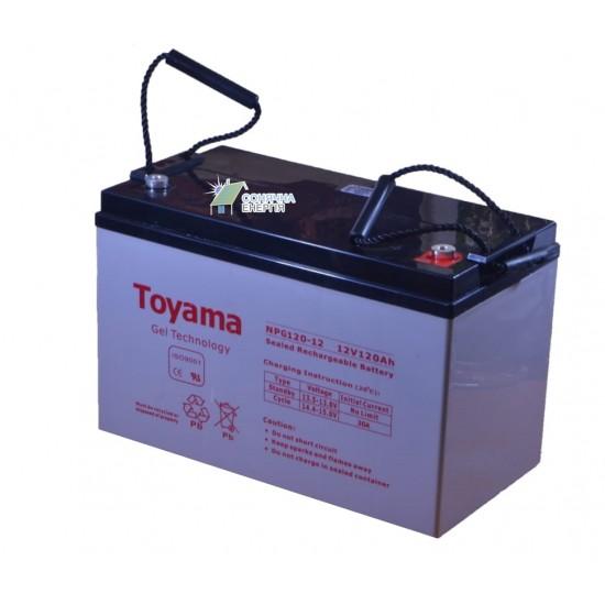 Акумуляторна батарея Toyama NPG120-12