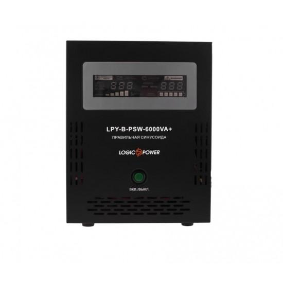 Джерело безперебійного живлення LogicPower LPY-B-PSW-6000VA +