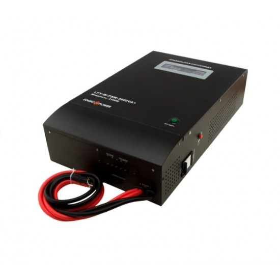 Джерело безперебійного живлення  Logicpower LPY-W-PSW-3000VA+ ( 2100Вт, 48В )