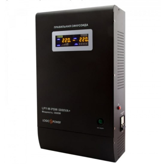Джерело безперебійного живлення  Logicpower LPY-W-PSW-5000VA+ ( 3500Вт, 48В )