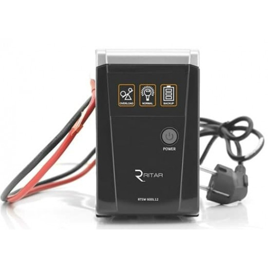 Джерело безперебійного живлення Ritar RTSW-600 LED