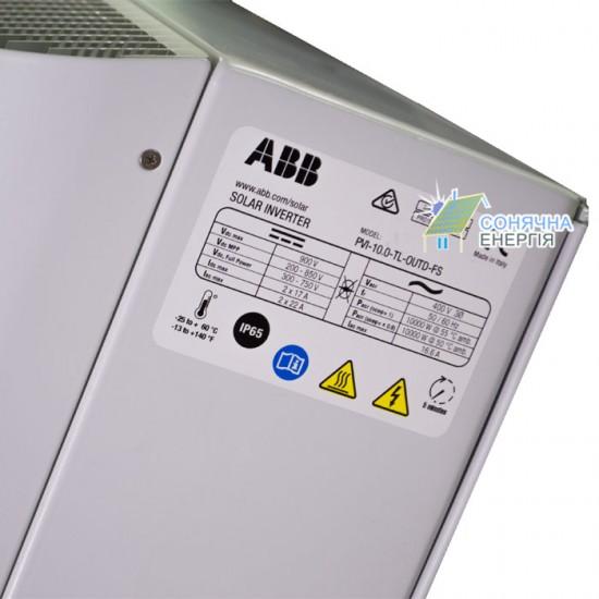 Мережевий інвертор АВВ PVI-12.0-TL-OUTD