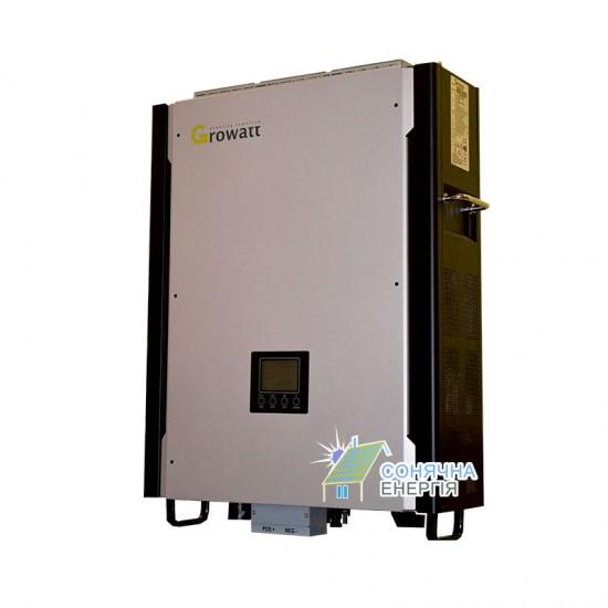 Гібридний інвертор GROWATT 10000HY (10кВ, з функцією резерву).