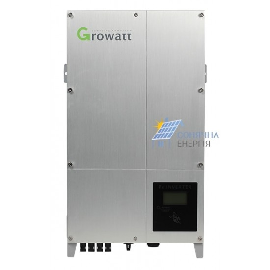 Мережевий інвертор Growatt 12000-UE