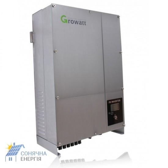 Мережевий інвертор Growatt 20000-UE