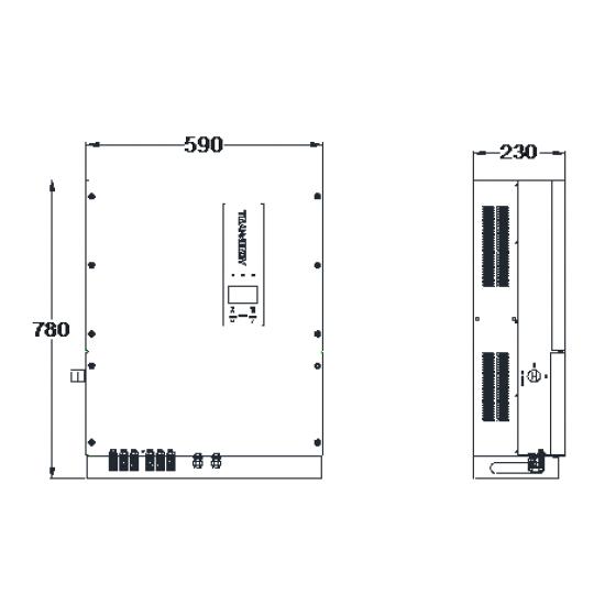 Мережевий інвертор Trannergy TRM030KTL