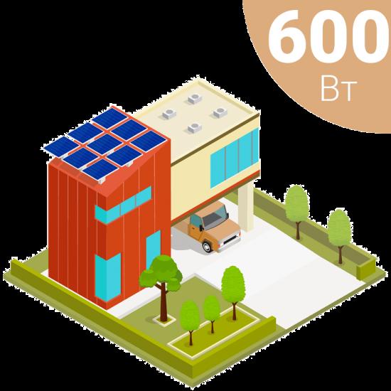 Автономна сонячна електростанція на 600 Вт