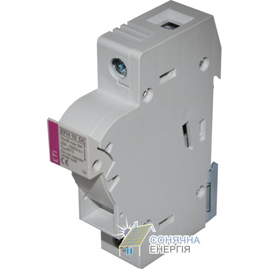 Роз'єднувач + запобіжник PCF DC 1P 10A 1000V