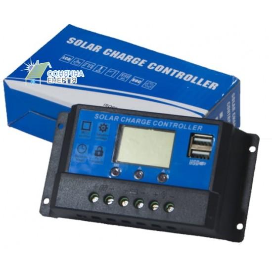 Контролер заряду CM20K-10A 12-24В, 10А