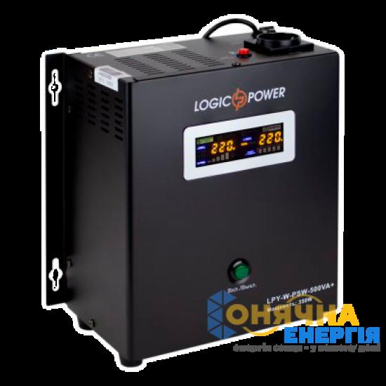 Джерело безперебійного живлення LogicPower LPY-W-PSW-500VA + (350 Вт, 12В)